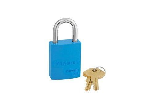 Aluminium padlock blue 6835BLU