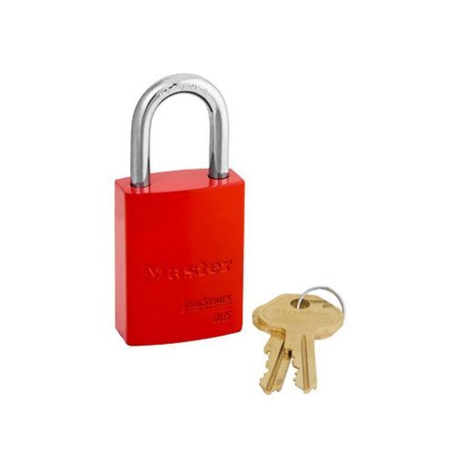 Aluminium padlock red 6835RED