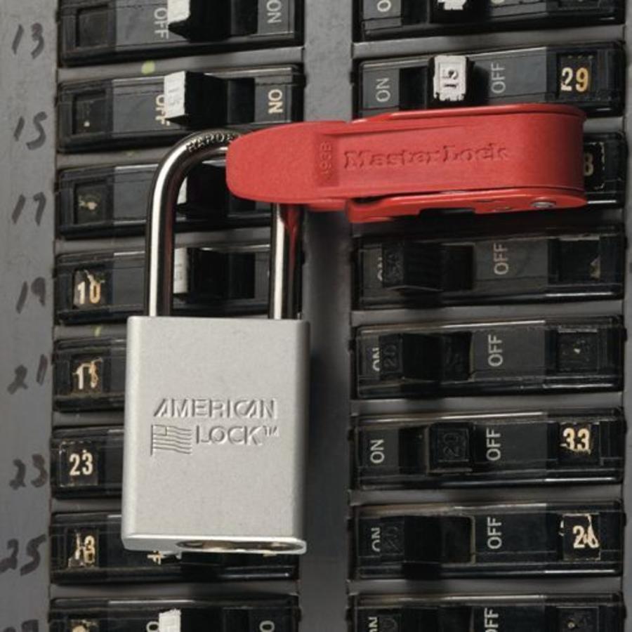 Circuit breaker lock-out 493B