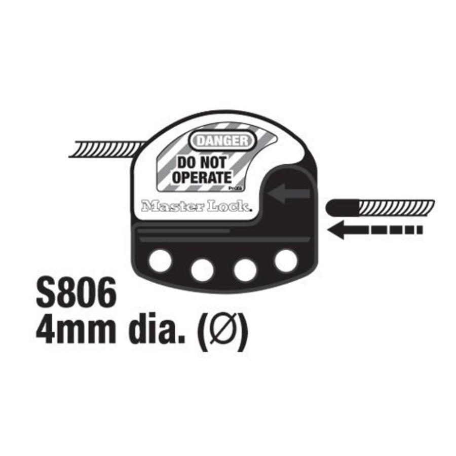Universal butterfly valve locking device S3921