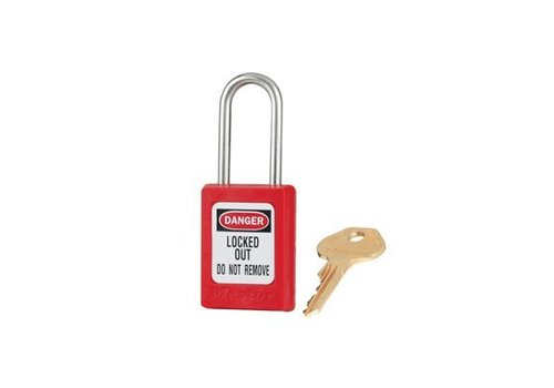 Zenex safety padlock red S31RED