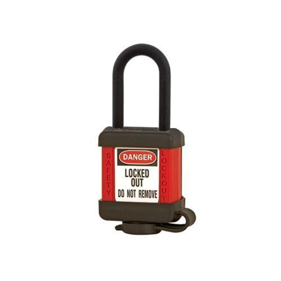 Zenex safety padlock red 406RED, 406KARED
