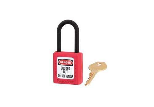 Zenex safety padlock red 406RED