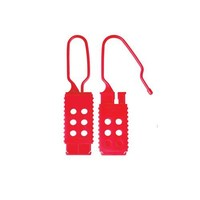 Brady Nylon safety padlock red 813594