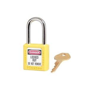 Master Lock Zenex safety padlock yellow 410YLW, 410KAYLW