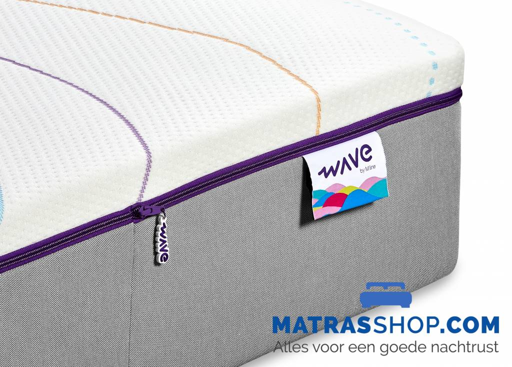 Wave matras kopen wave matras by m line online matrasshop