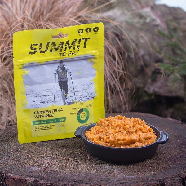Summit to eat Kip Tikka met rijst
