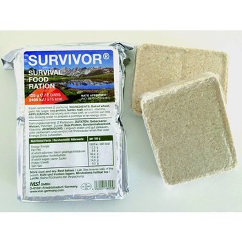 MSI SURVIVOR Survival food ration