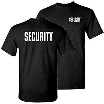Mil-Tec T-Shirt Security zwart