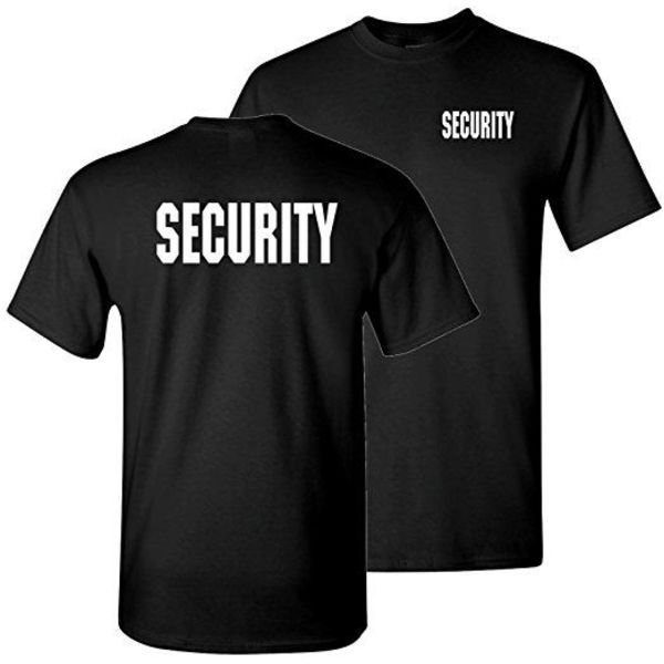 Mil-Tec T-Shirt Security Black