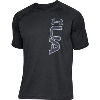 Under Armour Heatgear Tech Graphic T-Shirt Zwart