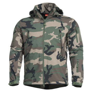 Pentagon® Artaxes Softshell Jacket Woodland Camo