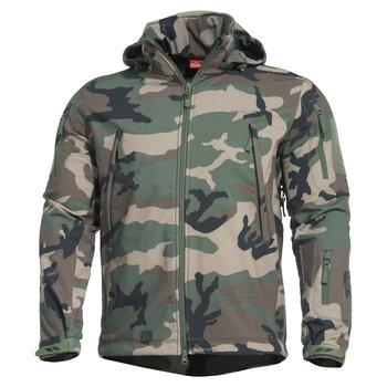 Pentagon® Artaxes Softshell Jas Woodland Camo