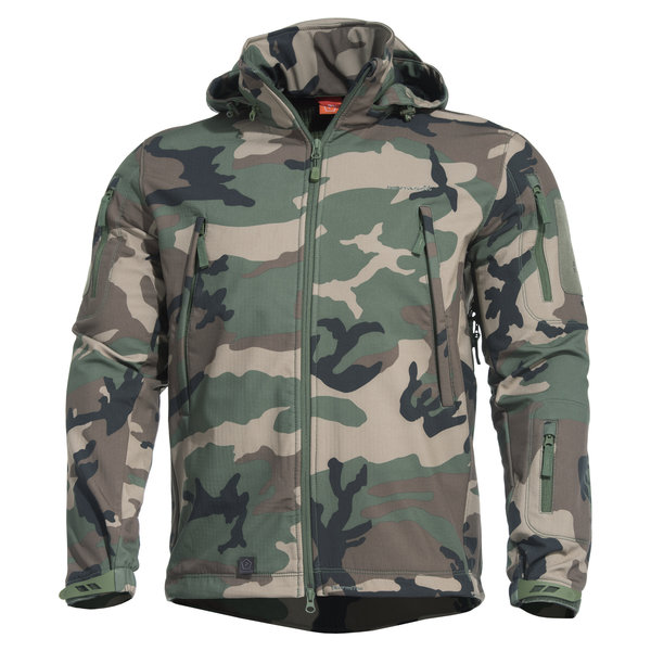 Pentagon® Pentagon Artaxes Softshell Jacket Woodland Camo