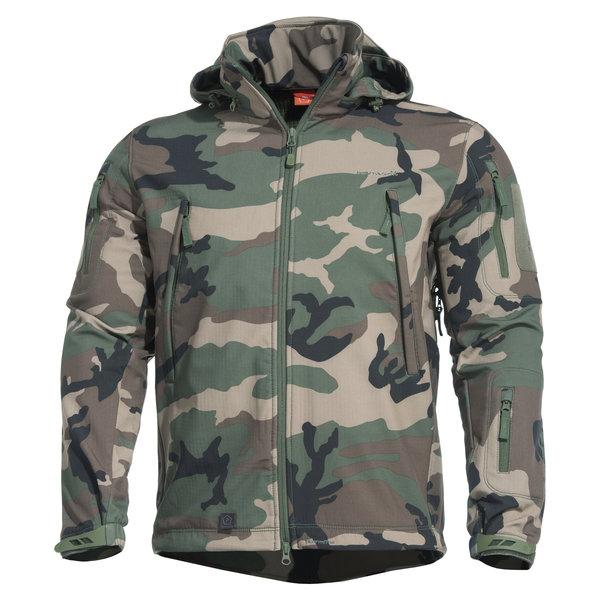 Pentagon® Pentagon Artaxes Softshell Jas Woodland Camo