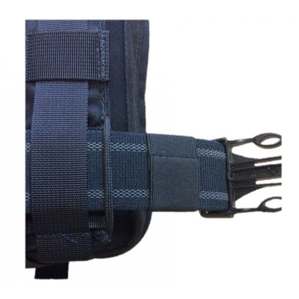 Wick IFAK – 3-way tactical thigh bag black EMPTY