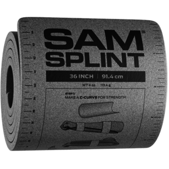 SAM Medical SAM Splint 36 inch Charcoal
