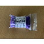 Wick Tack-Med Purple Nitrile Gloves (per paar size L)