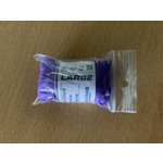 Wick Tack-Med Purple Nitrile Gloves (per pair size L)