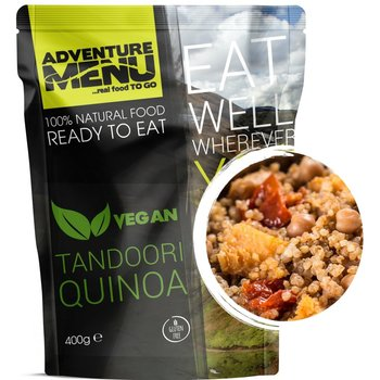 Adventure Menu Tandoori Quinoa Vegan ready to eat