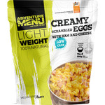 Adventure Menu Creamy scrambled eggs with ham and cheese normal portion