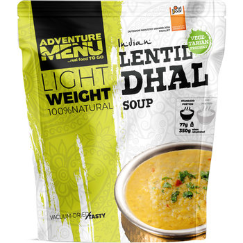Adventure Menu Linzen Dhal (soep) Vegetarisch