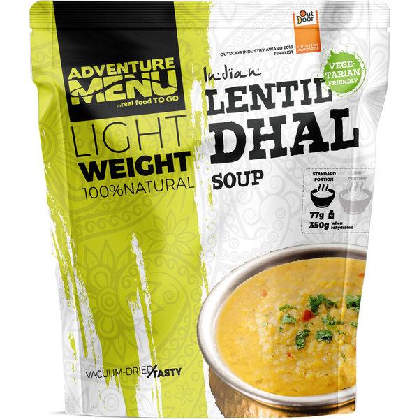 Adventure Menu Linzen Dhal (soep) Vegetarisch