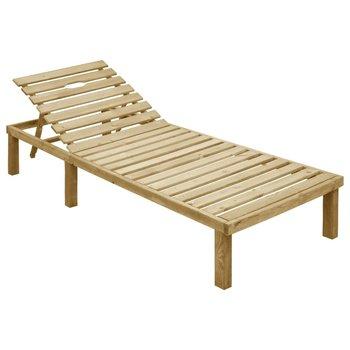 SG Ligbed geïmpregneerd grenenhout