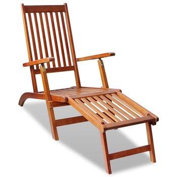 SG Ligstoel voor in de tuin (acacia hout)