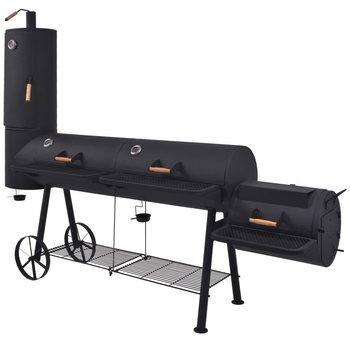 SG Houtskoolbarbecue met onderplank XXXL zwart