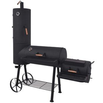 SG Houtskoolbarbecue met onderplank XXL zwart