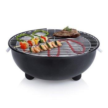 SG Elektrische tafelbarbecue BQ-2880 1.250 W 30 cm zwart