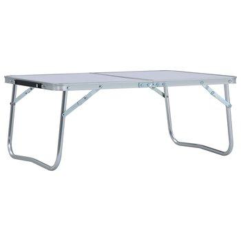 SG Campingtafel inklapbaar 60x40 cm aluminium wit