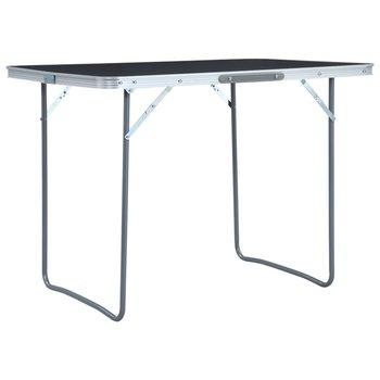 SG Campingtafel inklapbaar 120x60 cm aluminium grijs