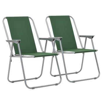SG Kampeerstoelen inklapbaar 52x59x80 cm groen 2 st