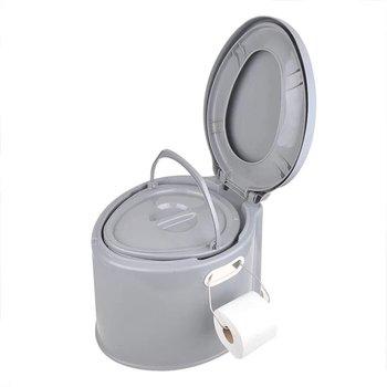 ProPlus draagbaar toilet 7 liter grijs