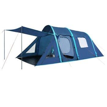 SG Tent met opblaasbare tentbogen 500x220x180 cm blauw