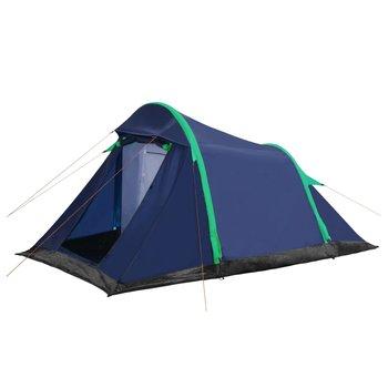 SG Tent met opblaasbare tentbogen 320x170x150/110 cm blauw groen