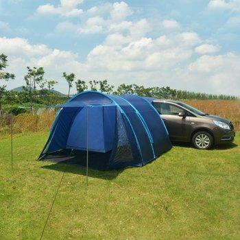 SG Tent 390x330x195 cm blauw