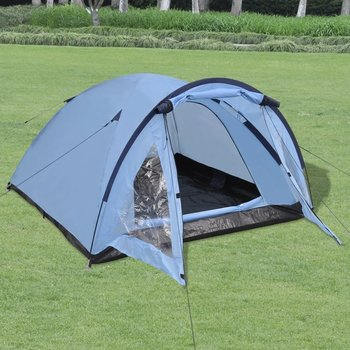 SG Tent 3-persoons blauw