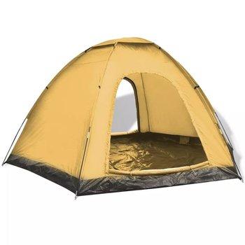 SG Tent voor 6 personen blauw en geel