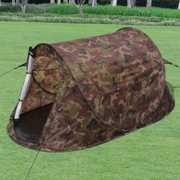 SG Tent pop-up 2-persoons camouflage