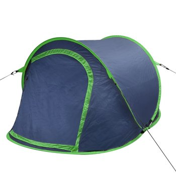 SG Pop-up tent 2 personen marineblauw / groen