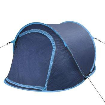 SG Pop-up tent voor 2 personen marineblauw/lichtblauw