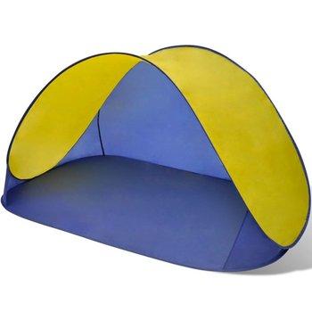 SG Opvouwbare strandtent waterafstotend en met UV bescherming (geel)