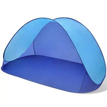 SG Opvouwbare strandtent, waterafstotend en met UV bescherming lichtblauw