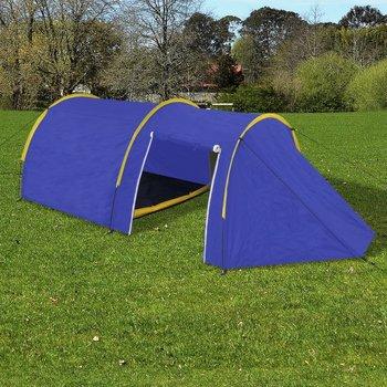 SG Tent voor 4 personen marineblauw / geel