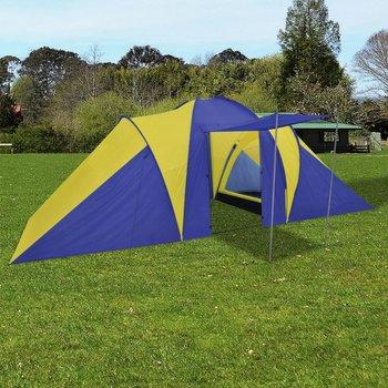 SG Tent voor 6 personen blauw/geel