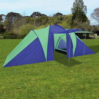 SG Tent voor 6 personen blauw/groen