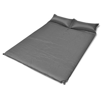SG Slaapmat zelfopblazend zwart 190 x 130 x 5 cm (dubbel)